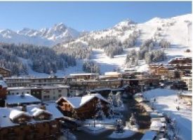 Luxury residential chalet development in Courchevel, France